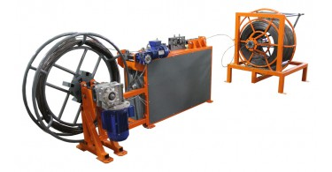 Rewinder wire machine for WL Compact